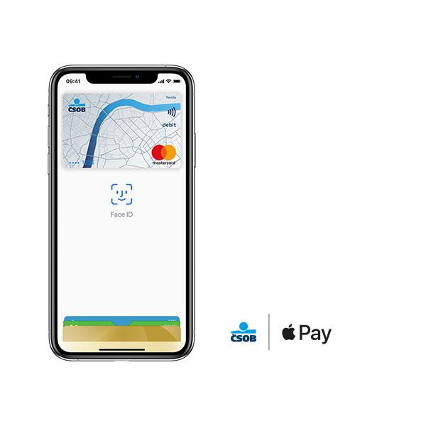 ČSOB Apple pay iPhone